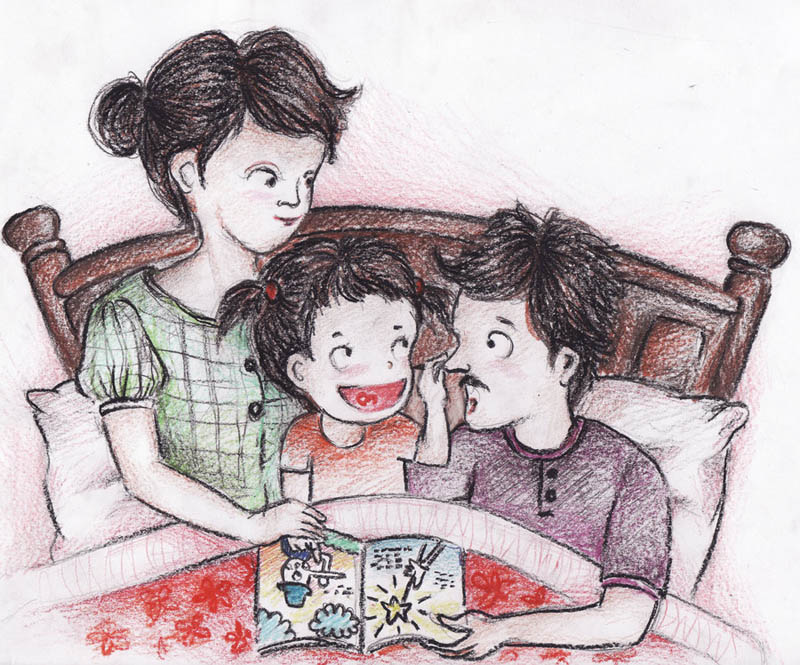 Воспитание детей, гармония в семье