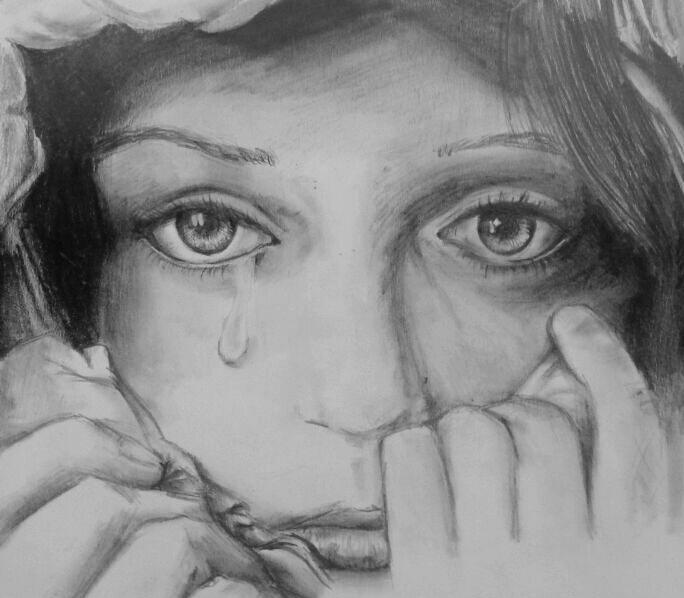 Печаль, слёзы